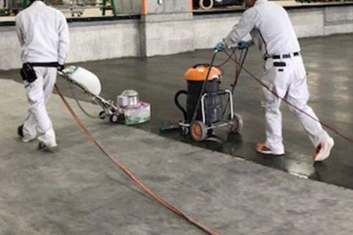 コンクリート床仕上げ工事